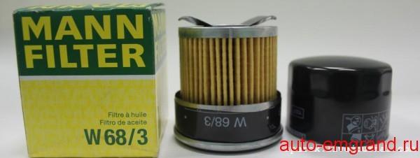 Смотрим что внутри масляного фильтра Mann W 68/3