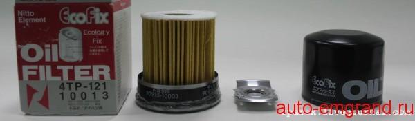 Смотрим что внутри масляного фильтра Nitto 4TP-121