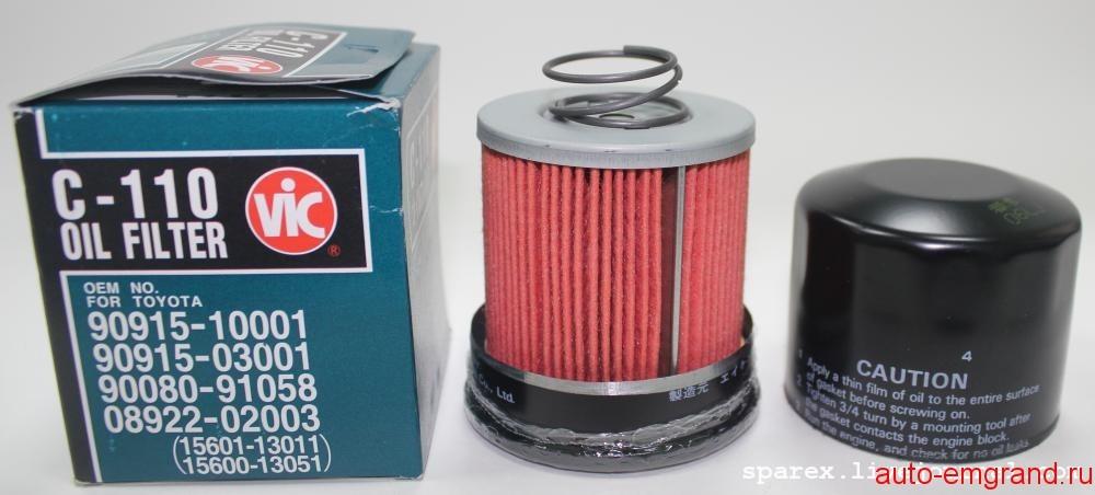 Смотрим что внутри масляного фильтра VIC C-110