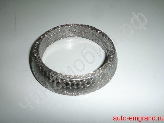Замена прогоревшего уплотнительного кольца приёмной трубы